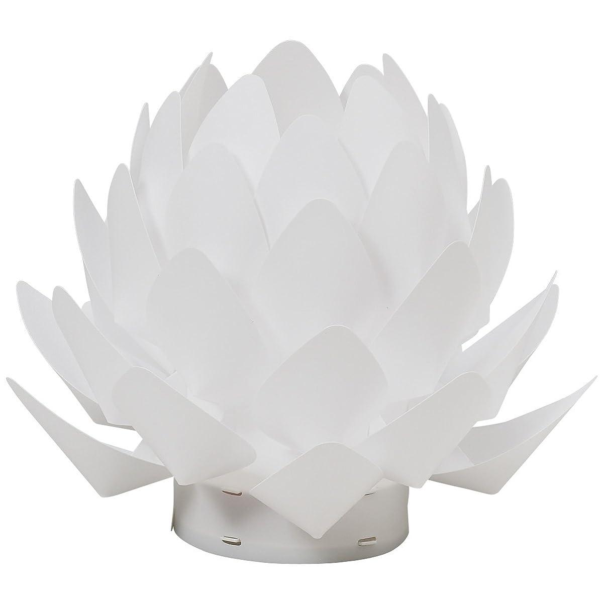 ドラフトエイズ症状カメヤマ 盆提灯 Origami-lite 蓮花 XS (間接照明)