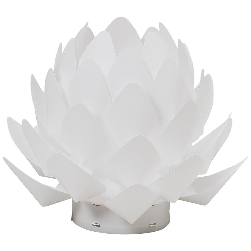 混乱したギャラントリーかすかなカメヤマ 盆提灯 Origami-lite 蓮花 XS (間接照明)