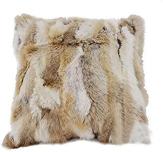 Manka Vesa Home Living Room Bedroom Decorative Soft Rabbit Fur Cushion Cover Throw Pillow Covers Case 18
