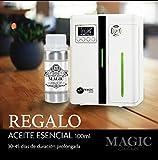 MAGIC SELECT Difusor eléctrico de aceites esenciales y ambientador profesional + 100ml Perfume REGALO