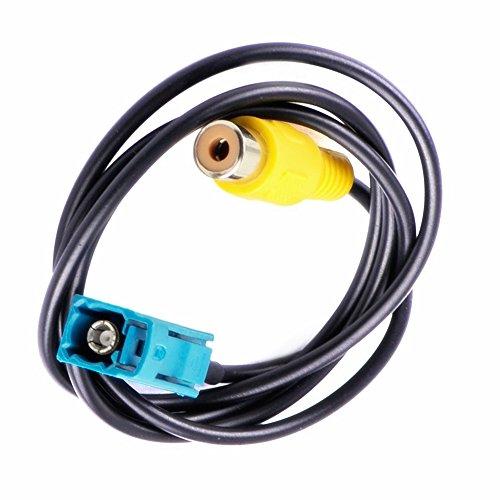Kalakus Câble adaptateur RCA pour caméra de recul vidéo pour Mercedes-Benz