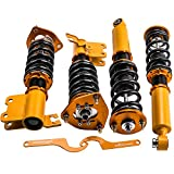 Coilovers Set for Nissan S13 Silva 1989-1994/ 240SX 89-90/ 180SX 89-98/ Sileighty 98/ 200SX 89-94 Suspensions Shock Struts Adjustable Height