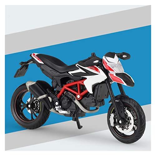 DSWS Kit de modelo de motocicleta 1:18 para Suzuki GSX1300R de aleación fundida a presión modelo de motocicleta Shork-Absorber niños regalo juguete (color: 4)