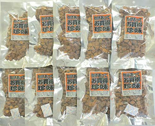 訳あり 国内製造 ツナピコ スーパーツナ まぐろ角煮 130g×10袋 1300g 小分け チャック付き袋 静岡水揚げマグロ使用