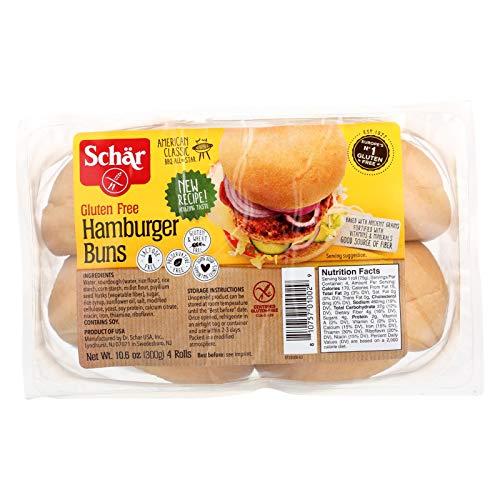Schar Hamburger Buns - - Case of 6 - 10.6 oz.