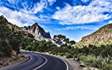 World Traveler's Puzzles 1000 Piece Jigsaw Puzzles (Approaching Zion National Park, Utah)