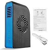 EATAN Leiouser pequeño ventilador personal 6000 mAh Banco de energía recargable USB ventilador portátil portátil verano refrigerador ventilador sin aspas
