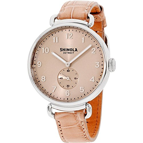 Shinola Detroit Women's The Canfield 38mm - 20001934 Nude/Light Pink