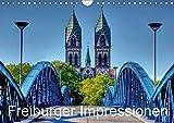 Freiburger Impressionen (Wandkalender 2019 DIN A4 quer): Freiburg im Breisgau (Monatskalender, 14 Seiten ) (CALVENDO Orte) - Gregor Luschnat