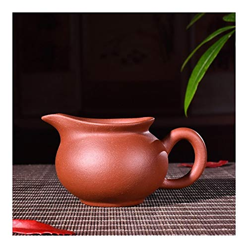 Teapot Kung Fu Tea Fair Cup Milk In Small Cup Of Tea TongLingUSL (Color : Clear cement)