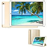 4G Tablet 10.1 Pollici WiFi 32GB ROM 3GB RAM 3 Slot Android 9.0 Quad-Core Batteria 8500mAh Dual SIM Bluetooth / GPS / OTG 8MP Camera Tablet Sbloccato DUODUOGO G12 (Senza tastiera e mouse)