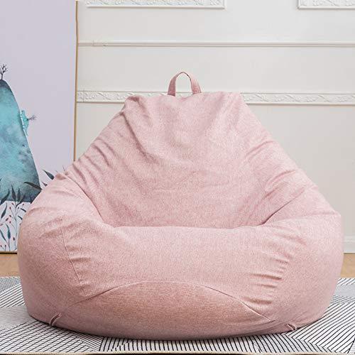 funda de silla de almacenamiento de bolsa de frijoles perezosos para adultos y ni/ños sin relleno-100x120 cm-Talla S gris oscuro/_China puff gigante,puff peraFunda de sof/á cl/ásica de silla de frijol