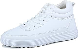 [R-SHOW] 身長 6cmUP メンズ厚底スケート靴 ハイカット シークレットスニーカー カジュアル ランニングシューズ