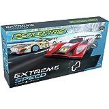 Scalextric Extreme Speed Team LMP vs Team GT 1:32 Slot Car Race Track Set C1406T