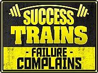 Success Trains ティンサイン ポスター ン サイン プレート ブリキ看板 ホーム バーために