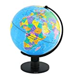 Best World Globes - Exerz 30CM Educational World Globe XL Swivel Rotating Review
