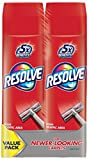 Resolve Dual Pack High Traffic Carpet Foam, 44 oz (2 Cans x 22 oz), Cleans Freshens Softens & Removes Stains