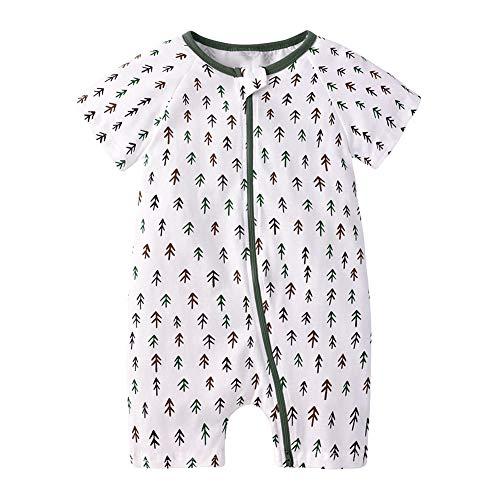 Happy Cherry - Sac de Couchage pour bébé été 0,5 Coton Tog avec Impression Mignon Sac de Couchage Ultra-léger Infanti avec Fermeture à glissière Confortable Cadeau Nouveau-né