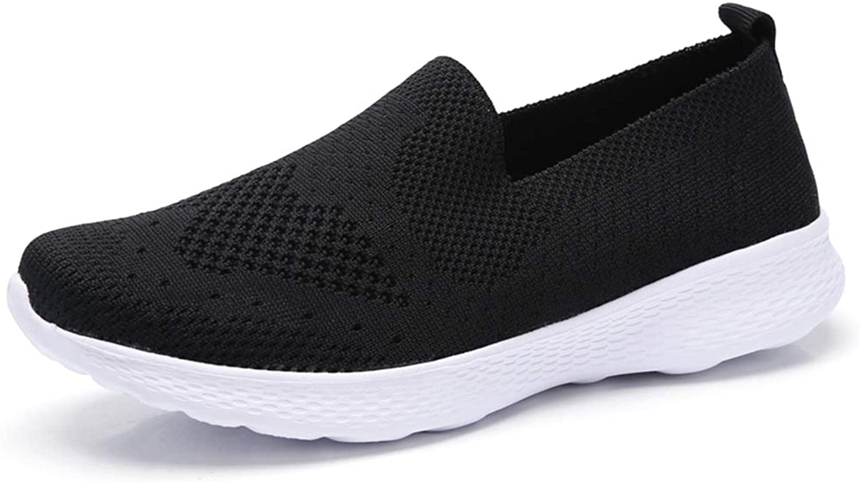 JOYBI Women Wedges Sneakers Comfort Tenis Non Slip Breathable Air Mesh Lightweight Casual Walking shoes