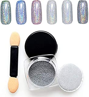 Colorful Shiny Nail Glitter Powder Bling Design Nail Polishing Manicure Nail Art Chrome Pigment DIY Nail Art Decoration
