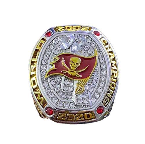 2020-2021 Super Bowl Tampa Bay Buccaneers Memorial Ring Champion Ring Mode Kreative Ring Meisterschaft Ring Set Fans Souvenir Ring,with Box,14