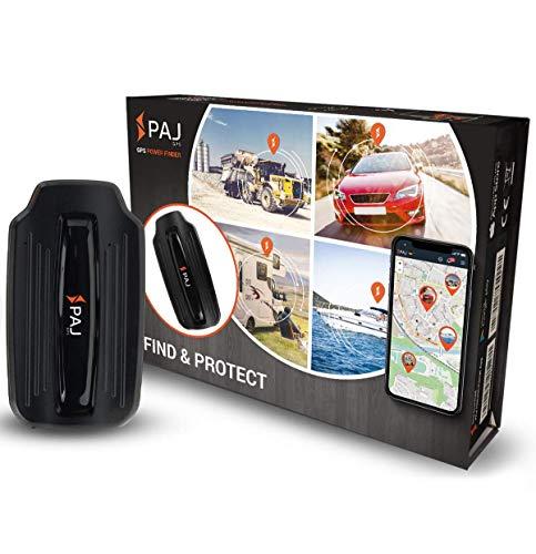 PAJ GPS Power Finder- Tracker GPS Voiture, Traceur GPS Moto et Plus Encore- Géolocalisation Voiture- Traceur GPS Espion AIMANTÉ, Connexion sans Fil- Marque Allemande- Batterie 40 Jours d'autonomie
