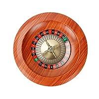 ルーレット 木製 カジノ ルーレット ホイール ルーレット テーブル カジノ ゲーム ロシアのルーレット 木製テーブルゲーム 小道具