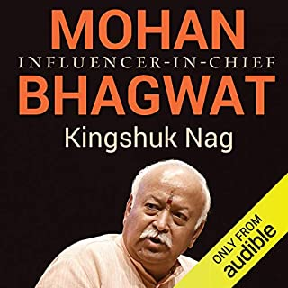 Mohan Bhagwat audiobook cover art