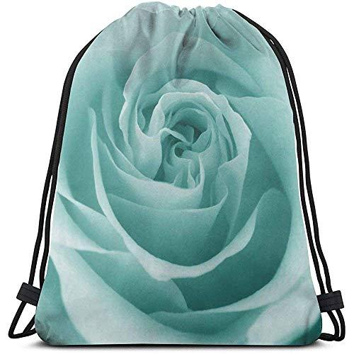 Mei-shop Tiff-any Premium Quality Drawstring Backpack Gym Bag Sport Bag for Adults Children School Kids PE Kit Bag