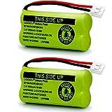 BT18433 BT-18433 BT28433 BT184342 BT-184342 BT284342 BT1011 BT-1011 OXWINOU Replacement Battery for AT&T and Vtech BT-8300 BATT-6010 89-1326-00-00 89-1330-01-00 CPH-515D Cordless Phone(Pack of 2)