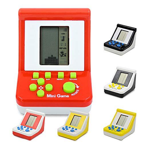 Tabanlly Giocatori di Gioco Portatili retrò Tetris Classic Gioco per Bambini Giochi elettronici Giocattoli Console di Gioco Giocattoli educativi Riddl