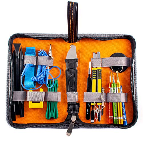 Group Vertical 5 Pack 24-in-1 Folded Nylon Portable Professional Tools Kit