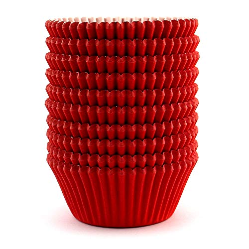 Cupcake Liners - Red