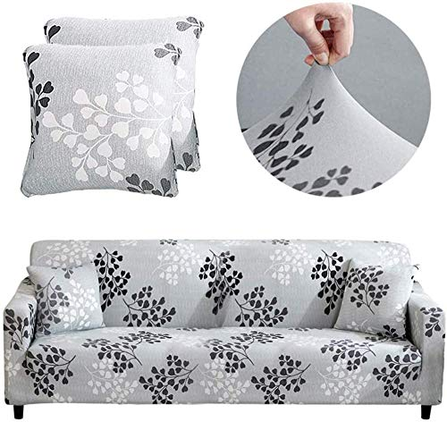 Estire la Funda de sofá 3 4 plazas Moda Popular patrón clásico Perro Mascota amistosa