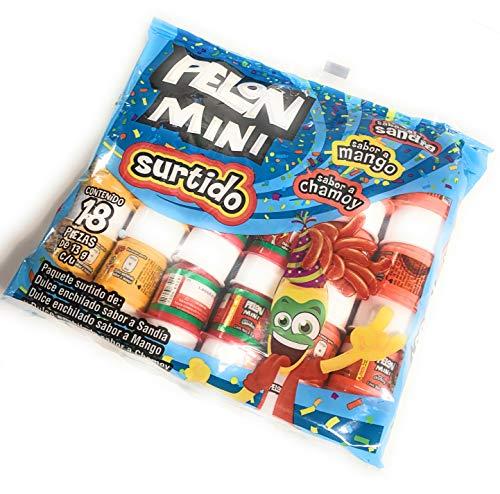 Tamarind Candy Flavor MINI Pelon Pelo Rico, Dulce De Tamarindo, with...