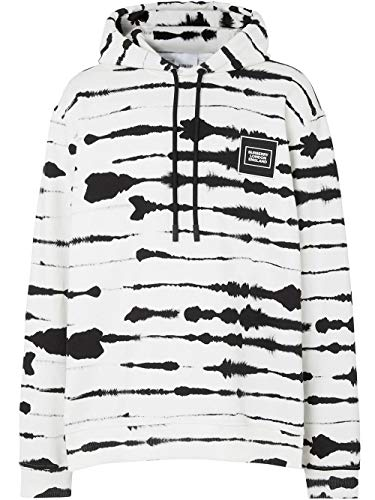BURBERRY Luxury Fashion Herren 4563797 Weiss Sweatshirt | Frühling Sommer 20