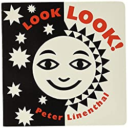 "Board book for baby ""Look Look"" by Peter Linenthal"