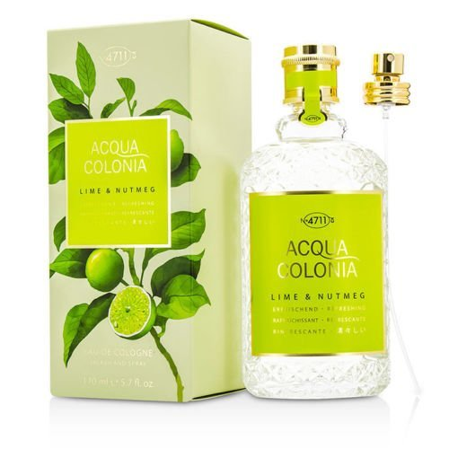 4711 Acqua Max 51% OFF Colonia Lime Nutmeg Eau De 5.7o Cologne Weekly update 170ml Spray