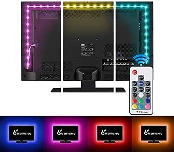 Vansky LED Strip Lights for 40-60 Inch TV