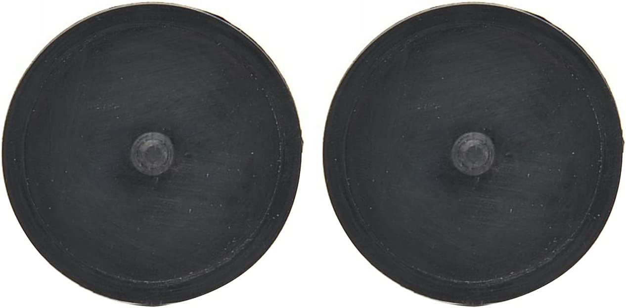 POWSTRO K Mail order Max 53% OFF cheap 2pcs 5cm 1.97inch Cleaning Practical Pad Coffee Black