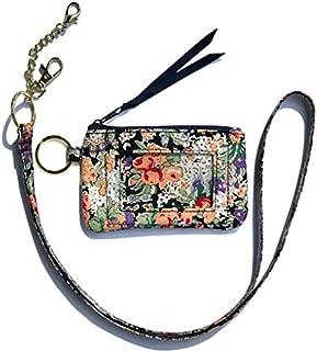 Badge Neck Strap Lanyard Card Holder ID Case(Magenta 1)