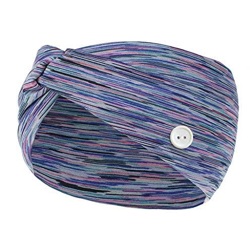 Why Should You Buy LHling Crochet Turban Headband for Women Warm Bulky Crocheted Headwrap Button Hea...