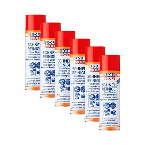6x Liqui Moly 3318rápido limpiador de freno spray limpiador 500ml