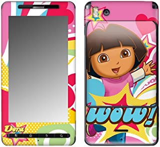 MusicSkins, MS-DORA30151, Dora The Explorer - Pop Denim, Motorola Droid X/X2, Skin