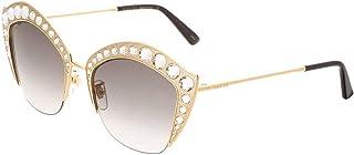 Gucci GG0114S 001 Montures de lunettes, Or (Gold/Grey), 53 Femme