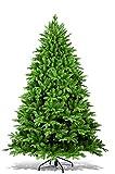 Dmora - Árbol de Navidad Anna, Altura 210 cm, Efecto Real, Extra frondoso, 1886 Ramas, 134 x 134 x 210 cm