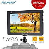 Feelworld FW703 7 Pouces sur Caméra Moniteur Camera DSLR Field Monitor Full HD Focus Video Assist...