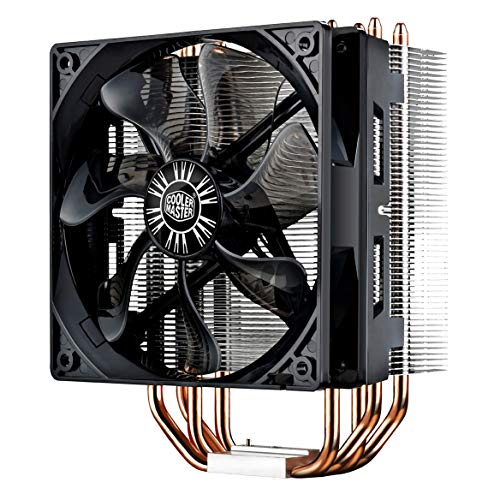 Cooler Master Hyper 212 EVO CPU Processorkoeler - bewezen prestatie - 4 heat pipes met direct touchontwerp, 120 mm PWM fan