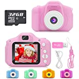 Hachi's Choice Gift Kids Camera Toys for 1-9 Year Old Girls, Compact Cameras for Children,Best...