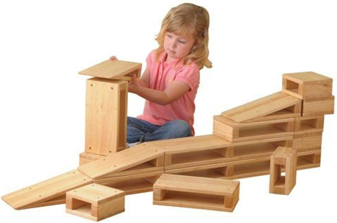 Constructive Playthings Junior Hollow Blocks Years for 2-6 Ages High quality Bargain sale new